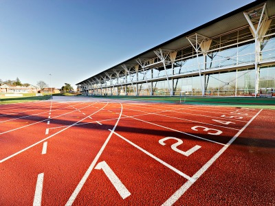 Pista de atletismo Universidad de Loughborough